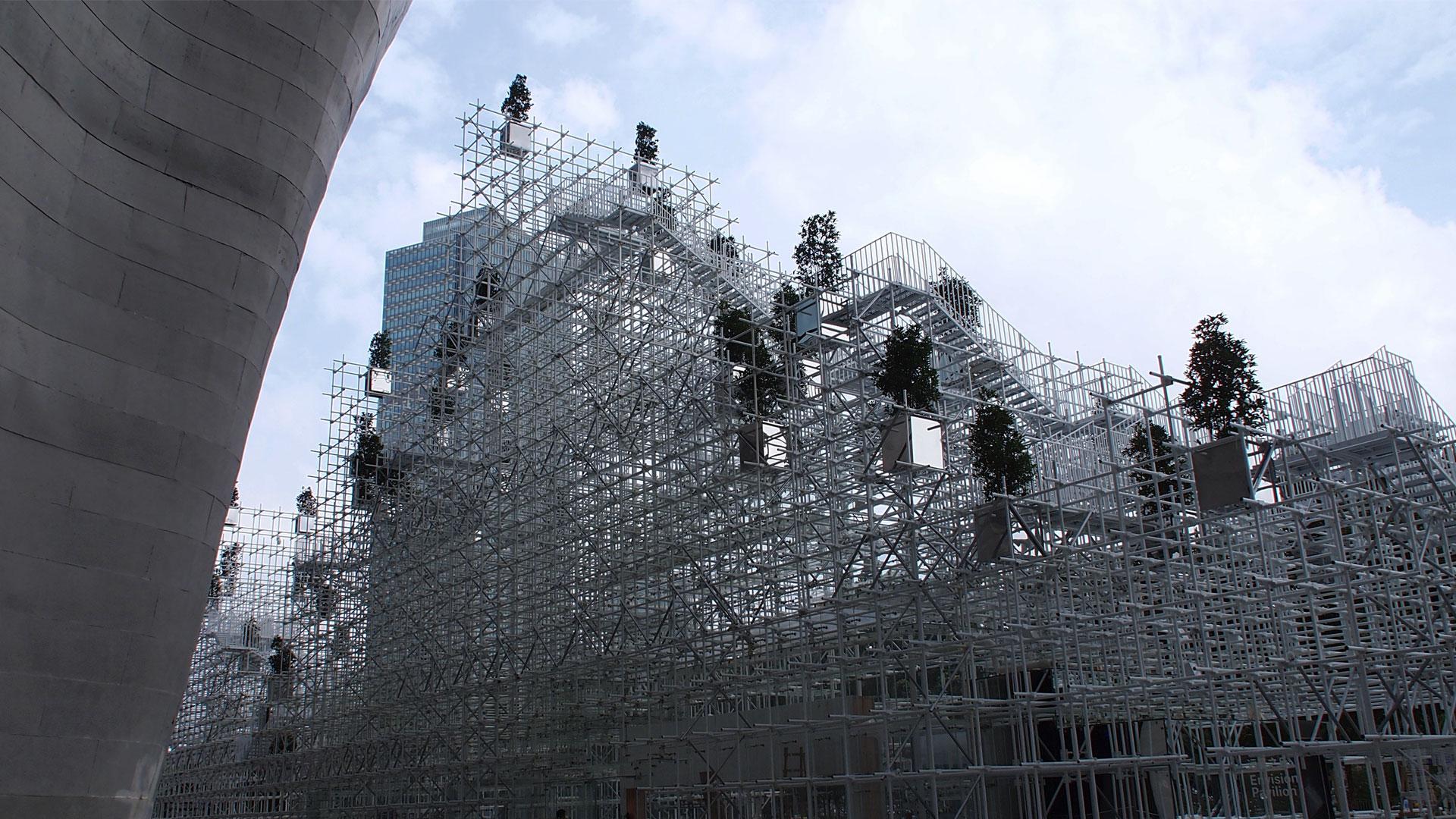 The Shanghai Project: Envision Pavilion by Sou Fujimoto