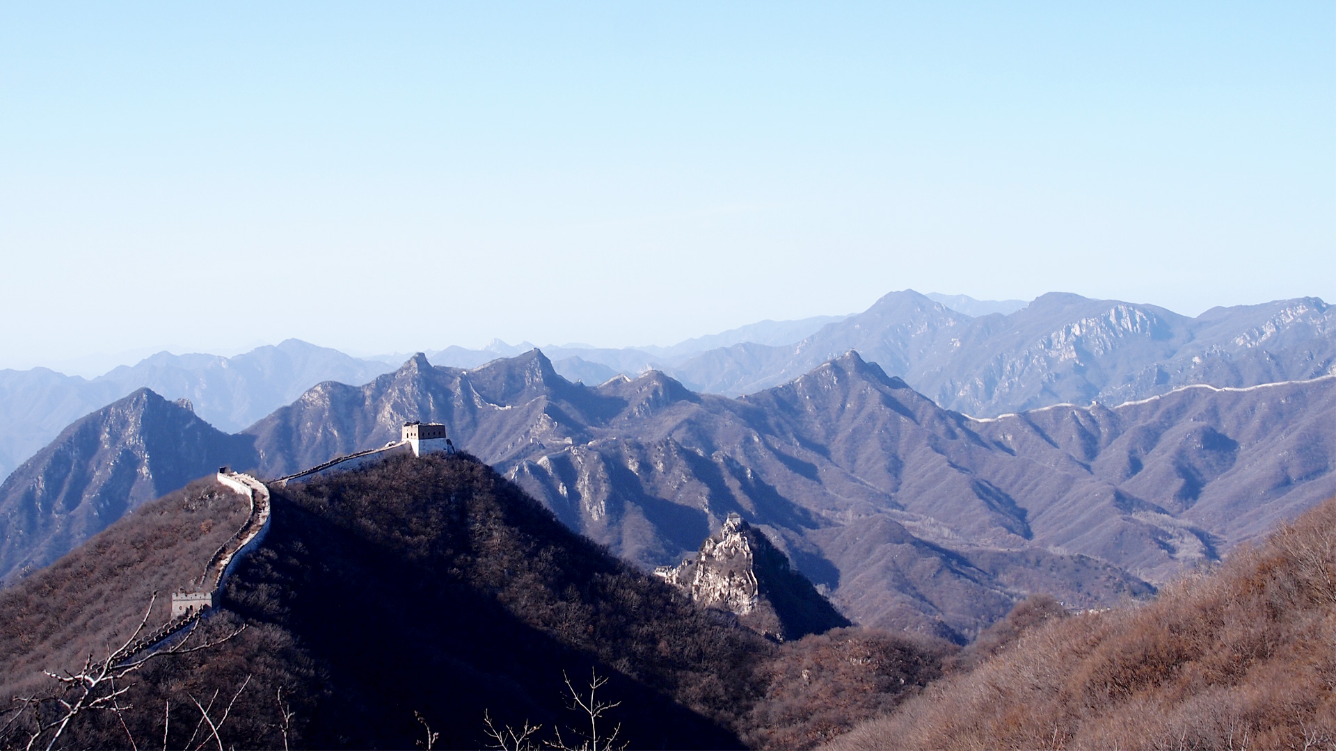 Hiking the Great Wall of China from Jiankou to Mutianyu